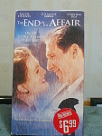 The End Of The Affair Vhs Tape