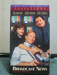 Broadcast News Vhs Tape