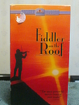Fiddler On The Roof Vhs Tape
