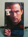 Above The Law Vhs Tape