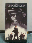 The Untouchables Vhs Tape