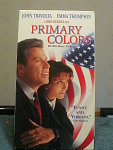Primary Colors Vhs Tape