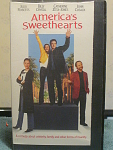 America's Sweethearts Vhs Tape