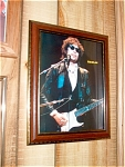 Bob Dylan Rock N Roll 1970s Picture And Frame