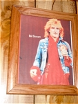 Rod Stewart Rock N Roll 1970s Picture And Frame