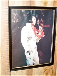 Elvis Presley Rock N Roll 1970s Picture And Frame