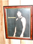 Bruce Springsteen Rock N Roll 1970s Picture And Frame