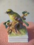 Singing Bird On Branch Music Box With Theme From Love