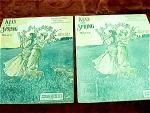 1906 Kiss Of Spring Waltz Sheet Music