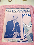 Kiss Me Goodnight With Xavier Cugat