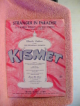 Stranger In Paradise From The Broadway Musical Kismet F