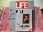Winter 1988 Life Anniversary Special, J.f. Kennedy Memo