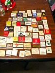 Collection Of 68 Advertising Matchbooks Including 8 Box