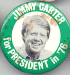 Vote Jimmy Carter For 1976 Presidential Campaign