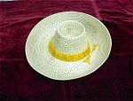 California Pottery Western Hat Chip & Dip
