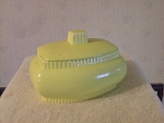 Fiesta By Homer Laughlin Covered Dish In Light Green