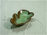 Frankoma Leaf Shaped Bowl