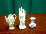 Collection Of 3 Vases By Lefton