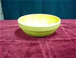Yellow Ware Stone Mixing Bowl
