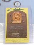 Autographed Cleveland Indians Lou Boudreau Postcard