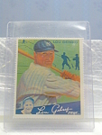 Big League Gum Lou Gehrig Baseball Card No. 61