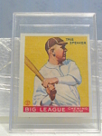 Big League Gum Tris Speaker Baseball Card No. 89