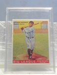 Big League Gum Babe Ruth Baseball Card No. 144