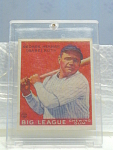 Big League Gum Babe Ruth Baseball Card No. 149