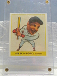 Big League Gum Joe Di Maggio Baseball Card No. 250