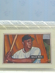 1951 Willie Mays Bowman Baseball Card