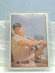 1953 New York Yankees Mickey Mantle Bowman