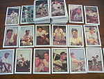 1953 Full Set Of 160 Bowman Color Baseball Cards