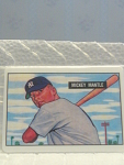 1951 Mickey Mantle Porcelain Baseball Card No. 253