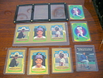 Collection Of 9 Roberto Alomar Gold And Promo Baseball