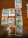 128 Minnesota Twins Baseball Cards, 1980s, 90s