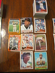127 Baltimore Orioles Baseball Cards, 1980s, 90s