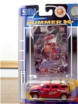 Lebron James Fleer Ultra Card, Hummer H2 Diecast Mip