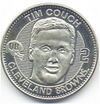 Tim Couch 1999 Cleveland Browns Collectible Coin