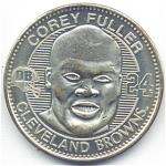 Corey Fuller 1999 Cleveland Browns Collectible Coin