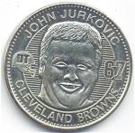 John Jurkovic 1999 Cleveland Browns Collectible Coin