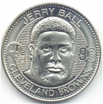 Jerry Ball 1999 Cleveland Browns Collectible Coin