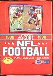 1990 Score Nfl Football Series 1 Full Box, 36 Packs, Mi