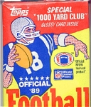 1989 Nfl Topps Football, Full Wax Pack