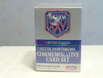 Super Bowl 25 Silver Anniversary Commemorative Card Set