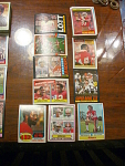 54 San Francisco 49ers Football Cards, 1970s, 1980s, 90