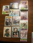 53 Chicago Bears Football Cards, 1970s, 1980s, 90s