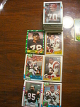 96 Cincinnati Bengals Football Cards, 1970s, 1980s, 90s