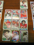 57 Denver Broncos Football Cards, 1970s, 1980s, 90s