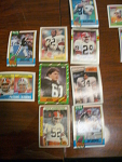 34 Tampa Bay Buccaneers Football Cards, 1970s, 1980s