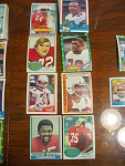 52 St. Louis & Phoenix Cardinals Football Cards, 1970s,